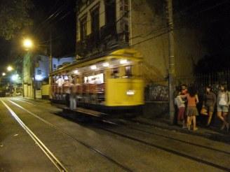 Tram in Santa Theresa, Rio, Brazil