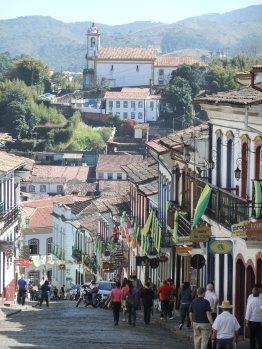 Main street, Ouro Preto, Brazil