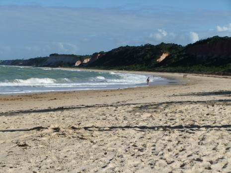 Arraial d'Ajuda beach, Brazil
