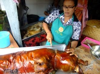 Amazing roast pork, Indonesia