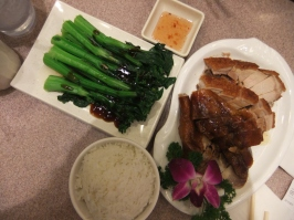 Roast meat trio (duck, pork and goose), Hong Kong