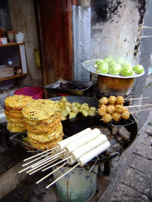 Deep-fried goodies, China