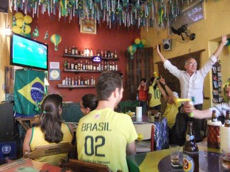 Brazil lead 1-0