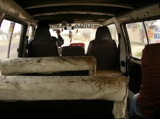 Minibus, Huanchaco, Peru