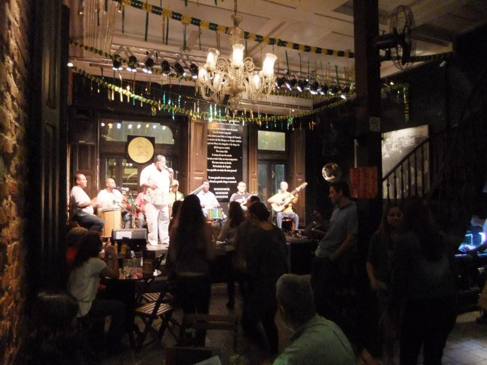 The samba club in Lapa