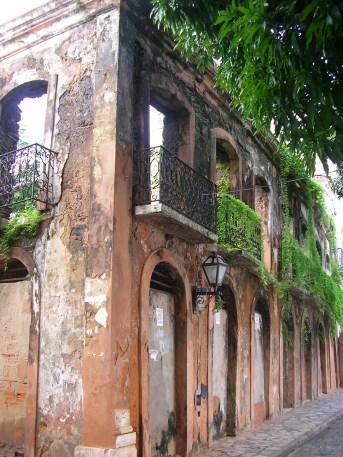Colonial ruin, Sao Luis, Brazil