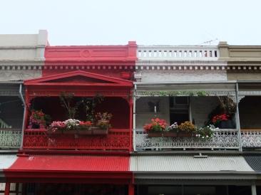 Nice balconies, Adelaide, Australia