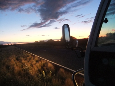 The long road ahead, Australian outback