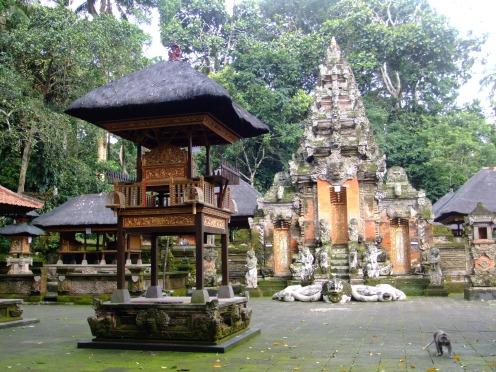 The monkey temple, Ubud, Indonesia