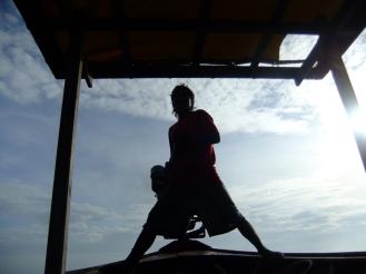 A longtail boat captain, Koh Lipe, Thailand