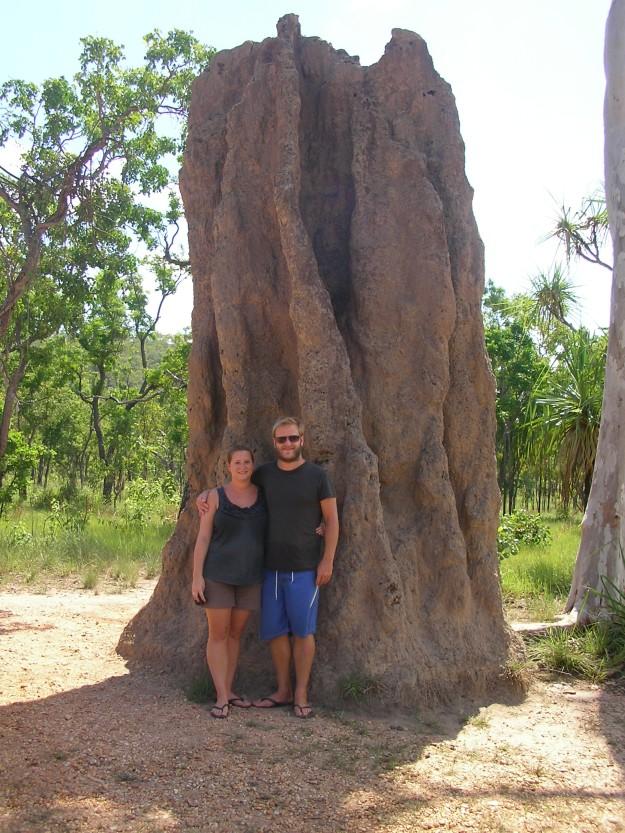 A massive termite mound, Kakadu National Park, Australia