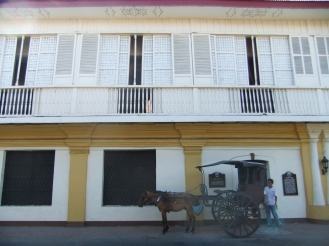 A colonial-style Vigan house, Philippines