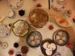 Lovely dim sum for Sunday lunch