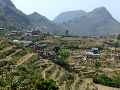 Countryside around Bandipur, Nepal