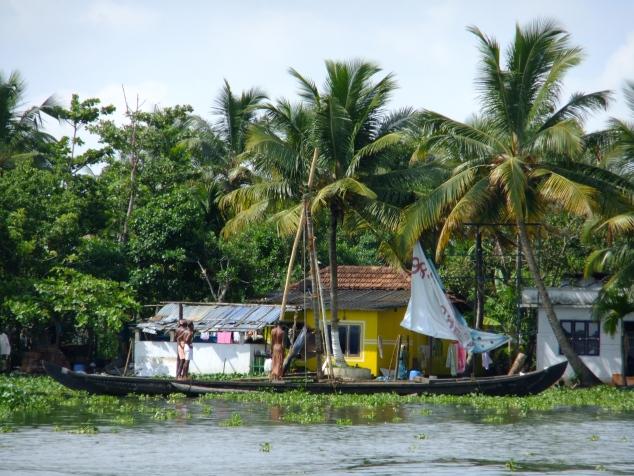 Keralan backwaters, India