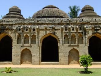 Elephant Stables, Hampi, India