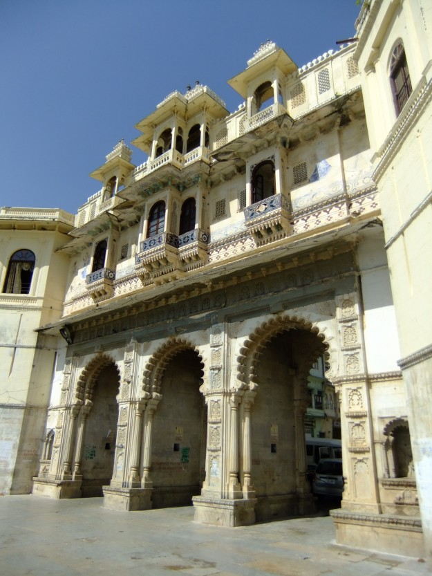 Lakeside building, Udaipur, India