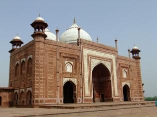 The Taj Mahal mosque, Agra, India