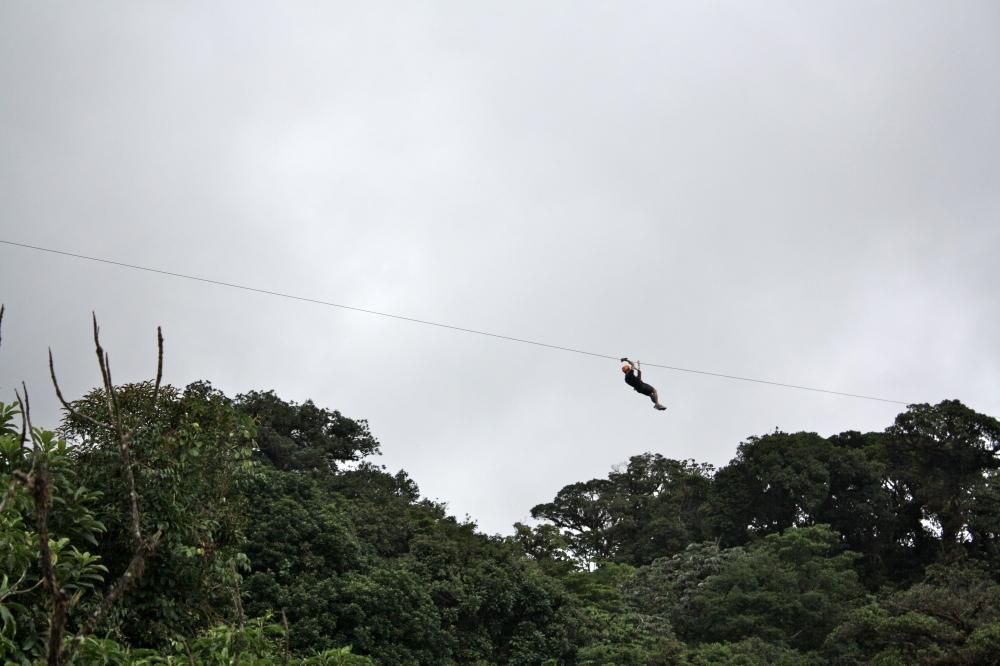 Canopy Tour in Monteverdi Costa Rica