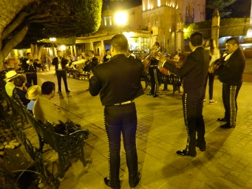 Band in main square
