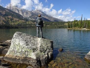 Conquering Taggart Lake