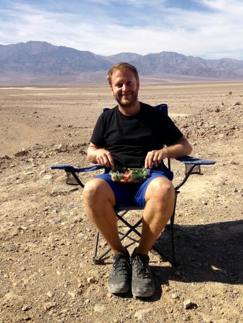 Lunch in the desert