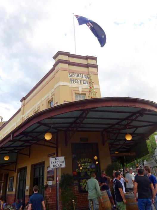 Proper Aussie pub