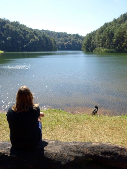 Swiss-style lake