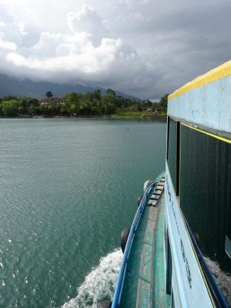 Ferry across the lake to Tuk Tuk