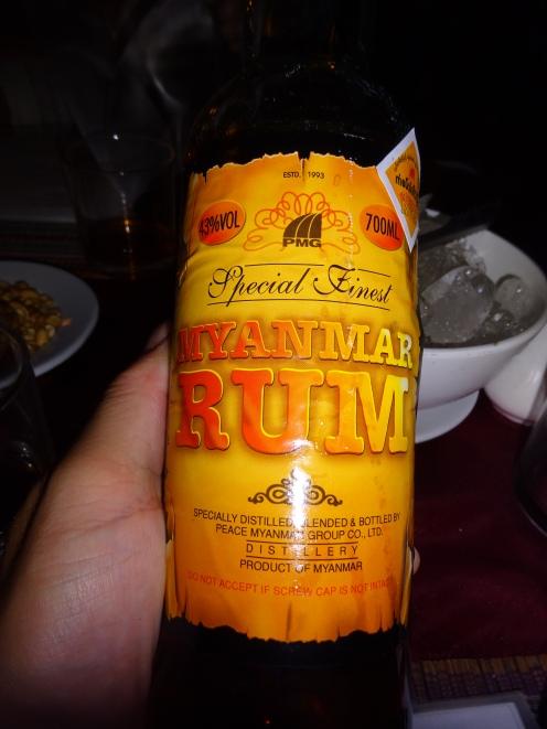 The cheap rum